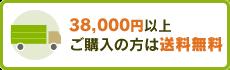 38000円以上ご購入の方は送料無料